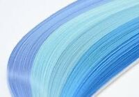 125 and 200 quilling  paper strips in various colours - 3mm wide 125 / 80 gsm