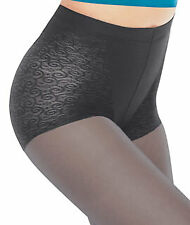 Vintage New L'eggs Body Beautiful Shaping Pantyhose Charcoal Q