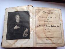 1868 German Bible DIE BIBLE Alten und Neuen DR Martin Luther Philadelphia
