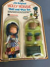 "Knickerbocker Holly Hobbie Doll In original package ""Holly"" 6 inches 70's"