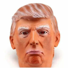 Halloween Donald Trump Latex Mask Overhead Funny Republican Party The Apprentice