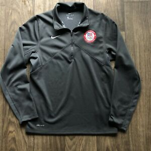 Men's Nike Dri-Fit Team USA United State Olympic Team Light Pullover Jacket Sz S
