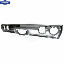 71-72 Chevelle Triple Chrome Plated REAR Impact Bumper Bar - Excellent Fit