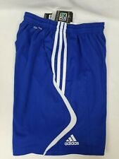 Adidas Men's Soccer Shorts Size S Climacool Cobalt Blue  New With Tags! #X45057
