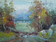 White Art Landscape Paintings
