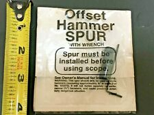 Offset Hammer Spur For Your Scoped Rifles New!