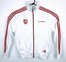 RARE Adidas Love LONDON England FIFA Soccer Track Jacket XL Bulldog Dog 2 City
