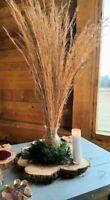 wedding centerpieces- rustic floral arrangements in glass vases set of 3