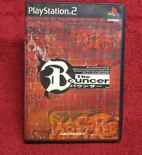 The Bouncer (Sony PlayStation 2, 2000) Japan Import NTSC-J Complete FLAWLESS.