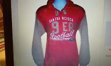 GIII NFL San Francisco 49ers Officially Licensed Full Zip Fleece Hoodie - Small