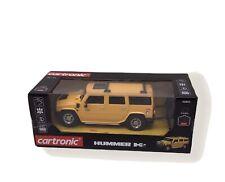 Cartronic  Ferngesteuertes RC Auto Hummer H2 RC 1:24  2.4GHz