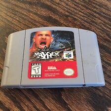 Mayhem Nintendo 64 N64 Game Cart Works -NE5