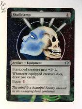 Skullclamp - Hand Painted MTG Alter - Magic - Kate Cart Art