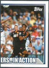 TOPPS 2014/15 PREMIER LEAGUE #356-QUEENS PARK RANGERS V HULL CITY-RIGHT HALF