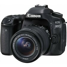 "Canon eos 80d 18-55mm 24.2mp 3""  Agsbeagle"