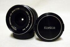 OEM KONICA f/3.5 28mm Prime Wide-Angle Lens SLR Film Camera DSLR Hexanon AR