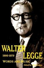 Walter Legge: Words and Music-ExLibrary