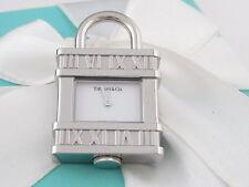 New Tiffany & Co Atlas Numeral Watch Clock Padlock Charm 4 Necklace Bracelet