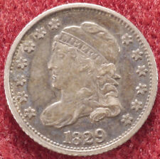 More details for united states liberty cap half dime 1829 (e2302)