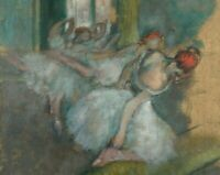 Edgar Degas Ballet Dancers Fine Art Print on Canvas Repro Giclee Poster Small