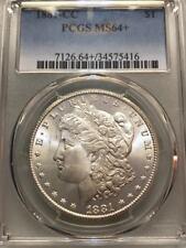 1881-CC $1 Morgan Silver Dollar PCGS MS64+