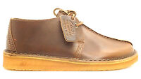 [DESERT TREK-10029] CLARKS PREMIUM CREPE MENS SHOES CLARKSBRONZE LEATHERM