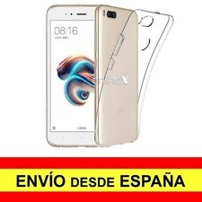 Funda Silicona para XIAOMI MI5X / MIA1 Carcasa Transparente ¡España! a2881
