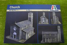 ITALERI CHIESA IN SCALA 1/72 scenari & terreno 6174