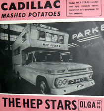 "THE HEP STARS ( pre  ABBA ) CADILLAC 7"" MASHED POTATOES -  OLGA RECORDS SO 09"