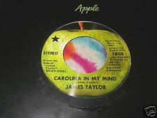 "JAMES TAYLOR - CAROLINA IN MY MIND - 7"" 45 - APPLE 1805"