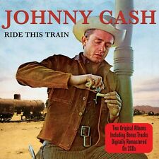 Johnny Cash RIDE THIS TRAIN / NOW THERE WAS A SONG! 40 Tracks NEW SEALED 2 CD