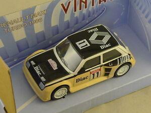 Mondo - Renault Maxi Turbo Diac 1986 N° 11 1/43