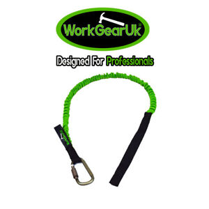Tool Lanyard With Carabiner 20mm Braided Strap WorkGearUk WG-TL02