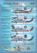 Print Scale Decals 1/72 Sikorsky Hawks Helicopter Family