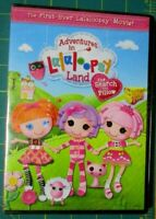 ADVENTURES IN LALALOOPSY LAND THE SEARCH FOR PILLOW (dvd)