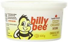 Billy Bee Creamed Natural Spreadable Honey 4 x 500g Canadian