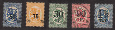 Finland - 1919-21 - Sc 121-23,125-26 - Used/H - 122 H