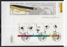 K 01 ) Germany 2003 beautiful Large FDC - Father and Son: Sleigh Ride  (I)
