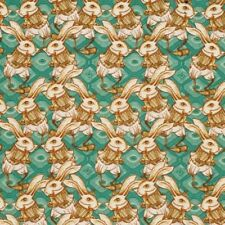 1/2 yd Tina Givens Free Spirit, Riddles and Rhimes Bunny quilting fabric