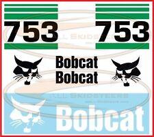 Bobcat 753 Decal Sticker Kit Skid Steer Loader Number Stripes Side