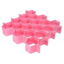 Creative Honeycomb Closet Divider Sock Organize Drawer Cabinet Clapboard Box Top