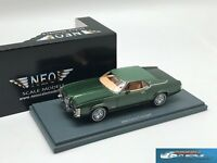 Mercury Cougar coupe Green Metallic / Green 1971 NEO 44735 1:43