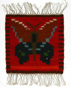 A small Polish folk art Admiral Butterfly wall hanging 1970's 41 cm New Old Stoc