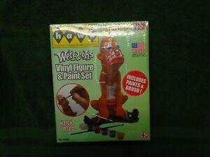 Hawk Weird-ohs Vinyl Figure & Paint Set Weight Lifter 2012 New Sealed