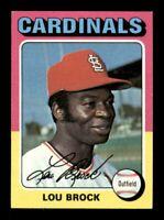 1975 Topps Set Break # 540 Lou Brock NM *OBGcards*