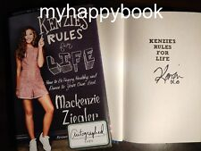 SIGNED Kenzie's Rules for Life by Mackenzie Ziegler, new, autographed