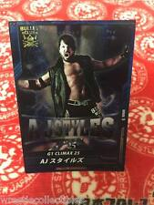 New Japan Pro-Wrestling Trading Card AJ Styles NJPW WWE G1 Climax 2015 Bullet