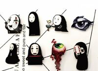 Cartoon Brooch Mix Demon Icons Brooches Acrylic Pin Hauru No Ugoku Shiro