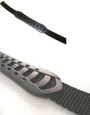 COPPIA di 15mm Larghezza 36cm lungo nero plastica e Cinghia maniglie di trasporto per sacchetti