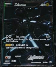 Holo Foil Zekrom # 114/114 Black & White Base Set Pokemon Trading Cards Rares HP